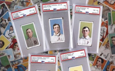The T206 set sold at Heritage Auctions was the finest on the PSA Registry