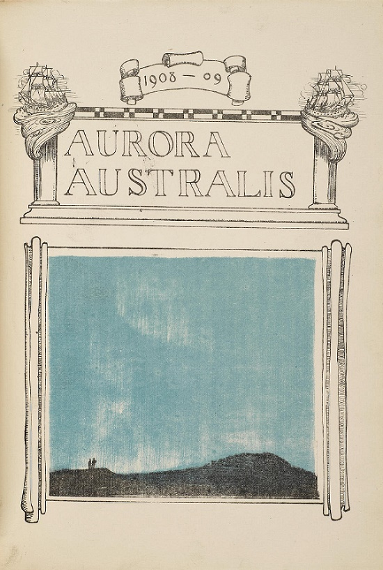 The book was named Aurora Australis after the 'Southern Lights' that the crew encountered during the expedition