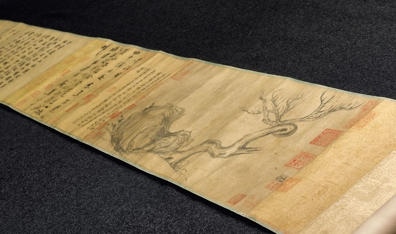 The scroll was believed lost until being rediscovered by experts in Japan earlier this year