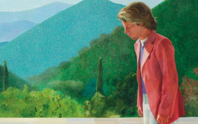Hockney's iconic 1971 painting will be offered with an estimate of $80 million