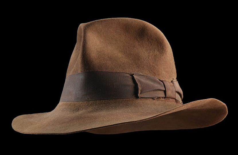 Ford's record-breaking hat is arguably the most famous in movie history