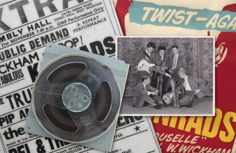 David Bowie's earliest demo tape from his first band The Konrads, recorded in 1963
