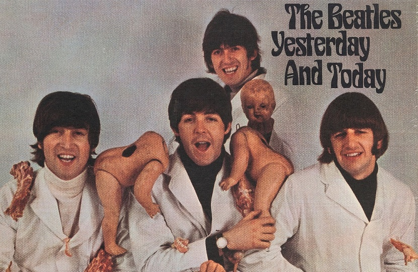 The highly controversial cover of the Beatles 1966 U.S album Yesterday and Today