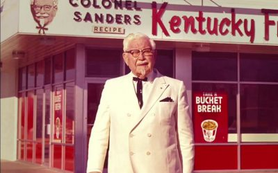Colonel Harland Sanders turned his fried chicken recipe into a global brand, and turned himself into a cultural icon