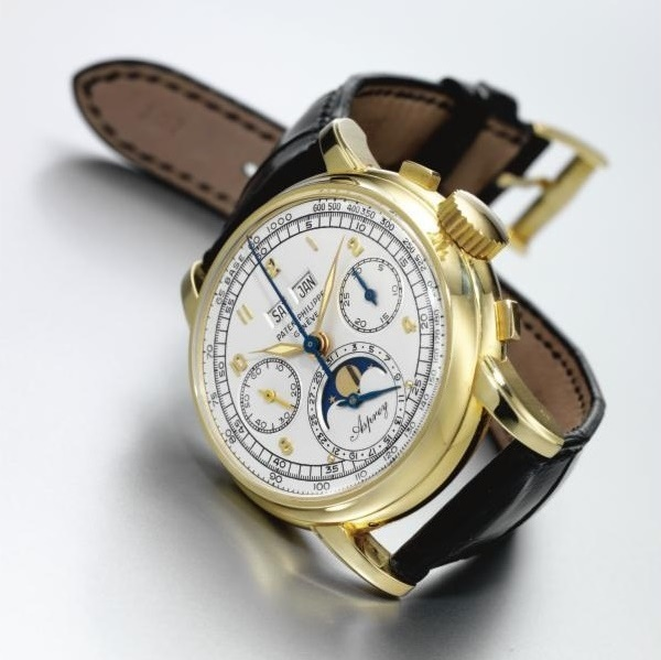 The watch last sold in 2006 for $1.77 million, and is expected to more than double that amount in November