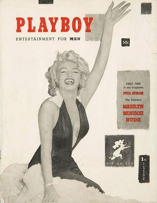 One of the most notable lots will be Hefner's personal copy of the first-ever issue of Playboy Magazine, published in 1953