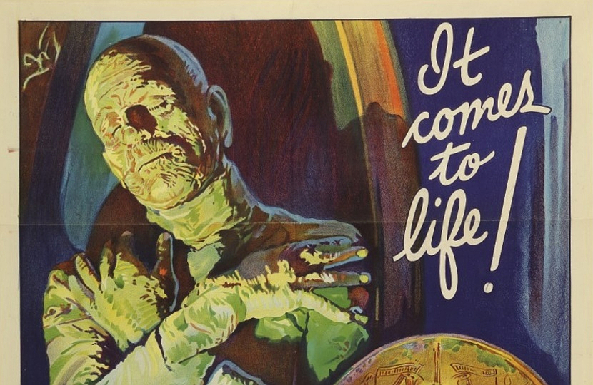 This original Mummy poster from 1932 looks set to become the world's first million dollar movie poster