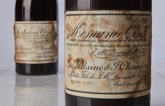 "The Romanée Conti 1945 is regarded as the ""ultimate trophy in wine collecting""."