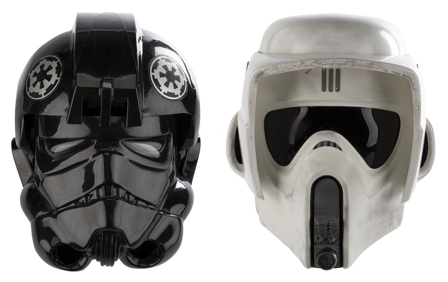 Screen-worn helmets are amongst the most sought-after pieces of Star Wars memorabilia for collectors