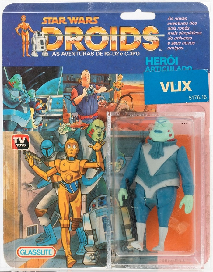 It's thought that there are less than 30 Vlix figures still in their original packaging
