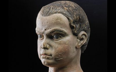 The highly rare sculpture is one of only 15 works attributed to the 19th century American folk artist Asa Ames