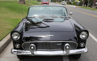 Monroe owned and drove the 1956 Ford Thunderbird convertible until a few weeks before her death in 1962