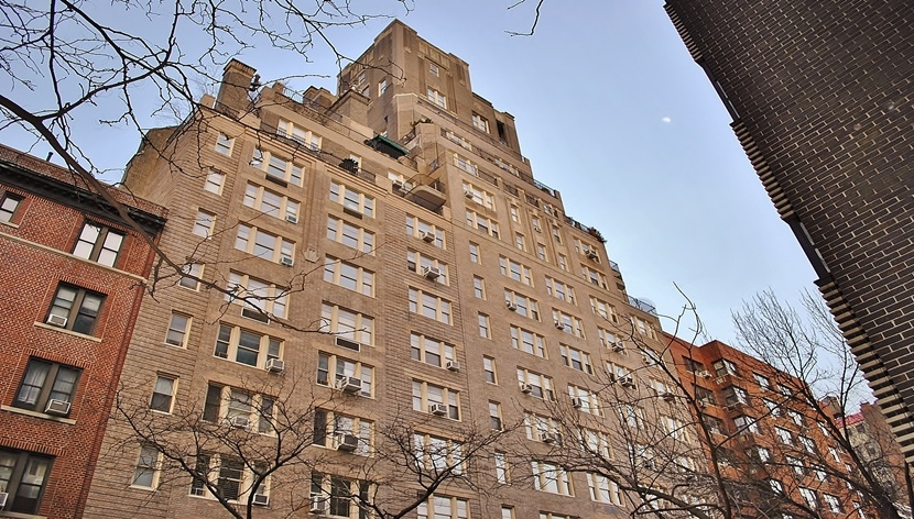The apartment building where Hendrix lived in Greenwich Village until his death in 1970.