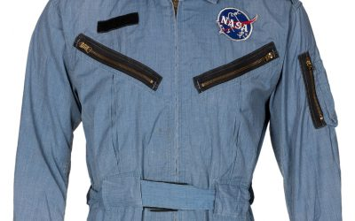 Neil Armstrong NASA suit