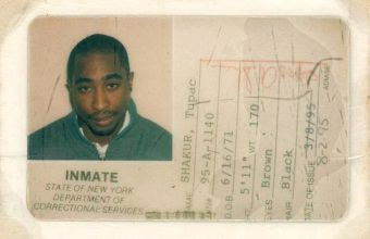 Tupac Shakur carried the I.D card during his nine month sentence at the Clinton Correctional Facility