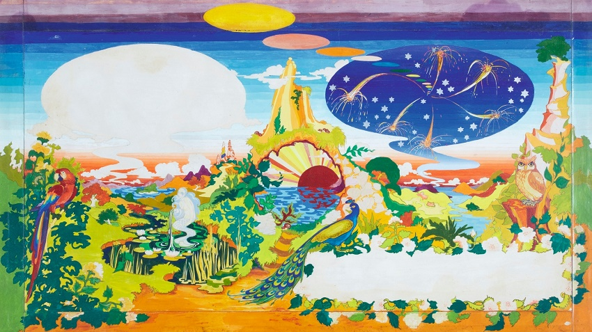 The fantasy landscape painting is now expected to sell at Sotheby's for $77,500 - $116,500