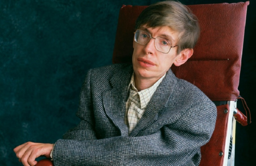Professor Stephen Hawking, who passed away in March 2018