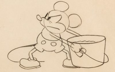 The sale will feature original drawings from Steamboat Willie, the first Mickey Mouse cartoon released in 1928