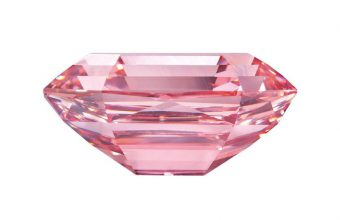 The record-breaking Winston Pink Legacy diamond