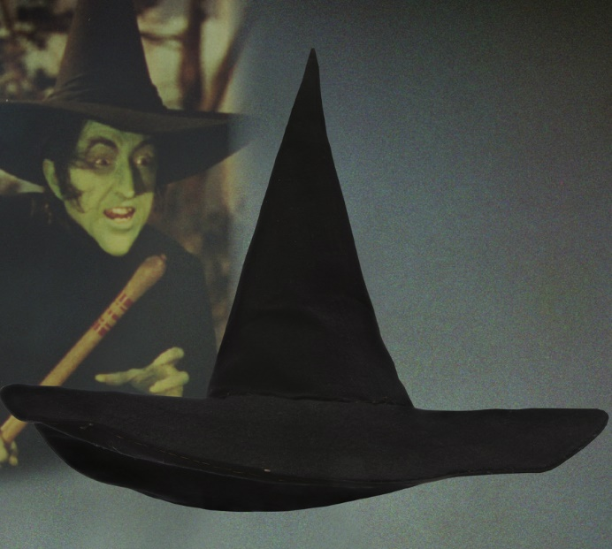 The sale also includes Margaret Hamilton's Wicked Witch of the West hat, which is estimated at up to $80,000