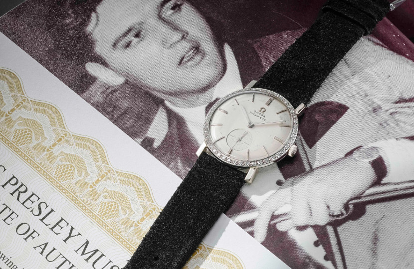 Elvis Presley's Omega wristwatch