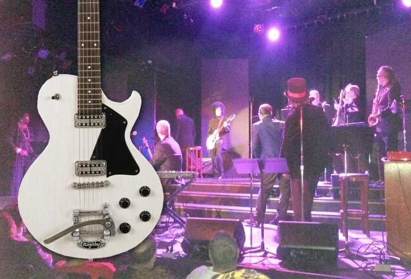 Prince's last stage-played guitar