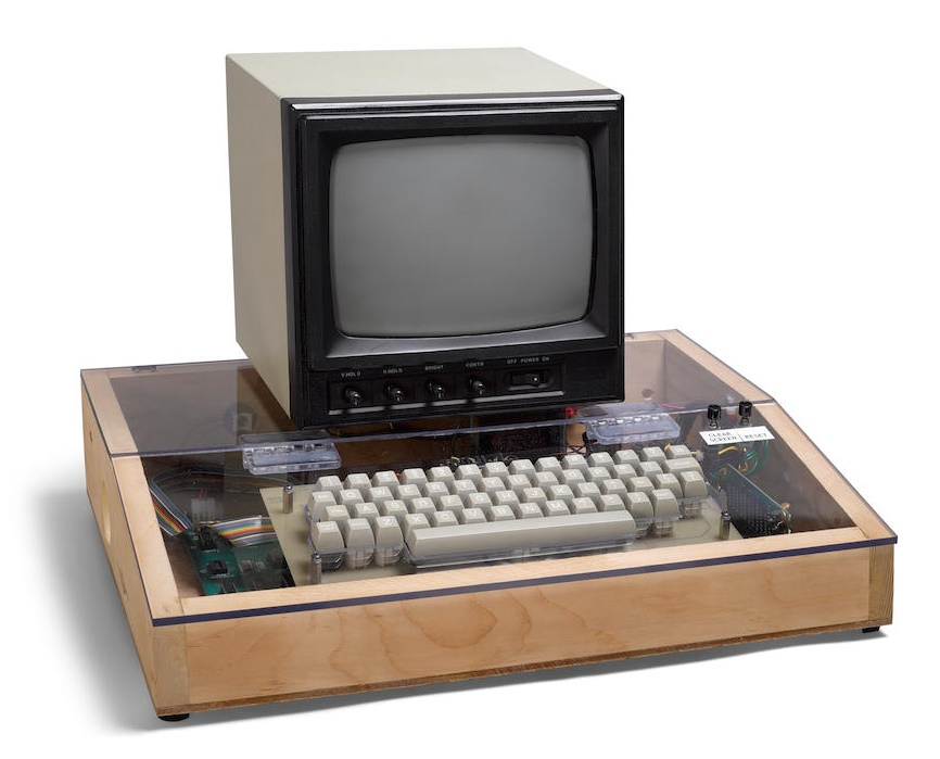 The original Apple-1 is one of just 68 surviving examples, and is estimated to sell for $250,000 - $350,000