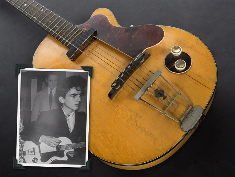 George Harrison's first electric guitar