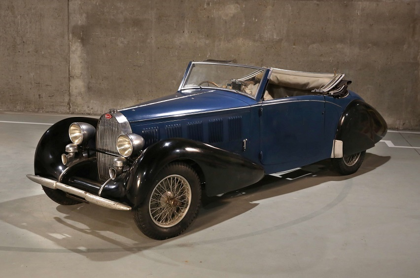 The 1937 Type 57 Cabriolet, estimated at €400,000 - €600,000
