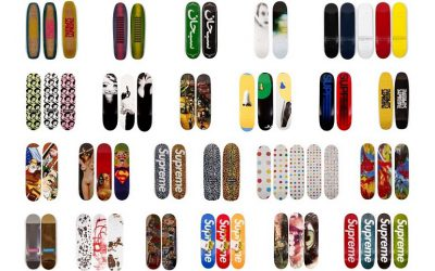 The unique collection features all 248 designs created by Surpeme between 1998 and 2019