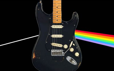 David Gilmour is set to auction hist entire guitar guitar collection at Christie's in New York on June 20