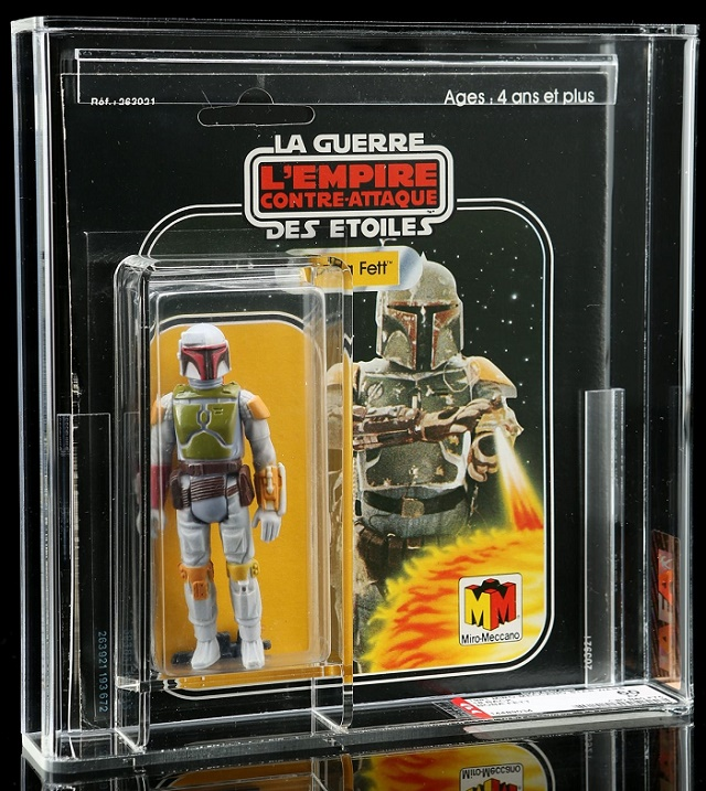 A French-release Boba Fett figure from Meccano