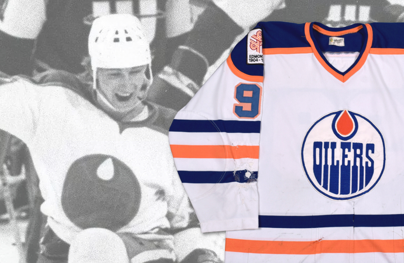 half off 11cd7 dbb35 Wayne Gretzky's Edmonton Oilers NHL rookie jersey heads for ...