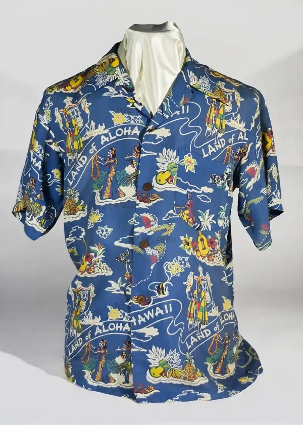 John F. Kennedy's Aloha shirt, estimated at $15,000 - $20,000