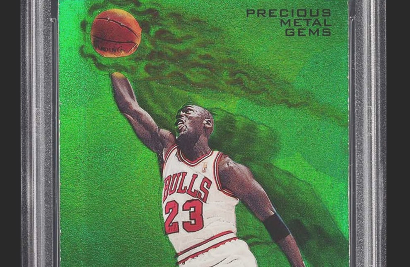 Near Mythical Michael Jordan Basketball Card Tops 350000 On Ebay