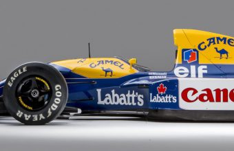 Nigel Mansell's 1992 Williams-Renault FW14B Formula 1 car