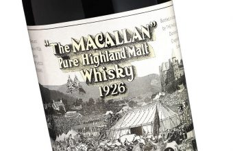 The Macallan-60 year old-1926 featuring a label by Sir Peter Blake