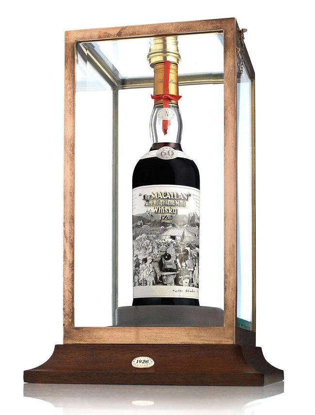 Just 12 bottle of the Peter Blake Macallan-60 year old-1926 were produced in 1986