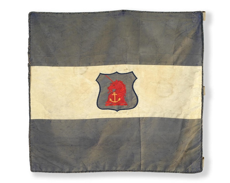 Eric Marshall's personal sledge flag, which sold for £75,000 ($96,700)