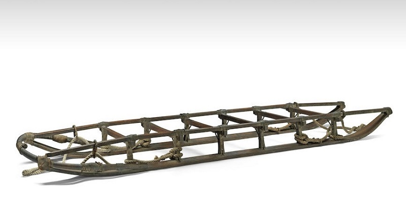 The 110-year-old sledge sold for £143,750 ($185,000)