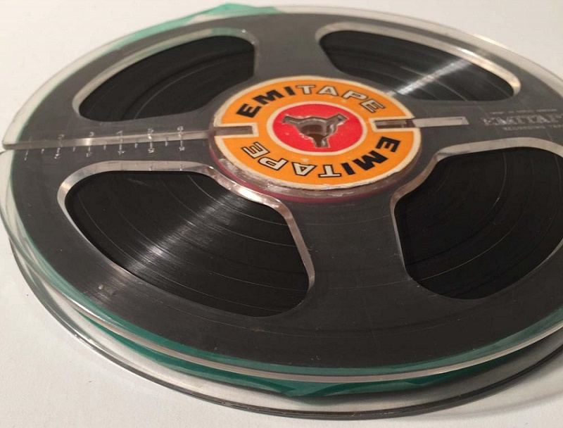 The reel-to-reel tape also includes unheard versions of Bowie's classic songs 'Moonage Daydream' and 'Hang Onto Yourself'
