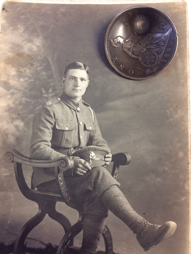 John Trickett returned home after WWI and raised eight children - who all owe their existence to his lucky penny