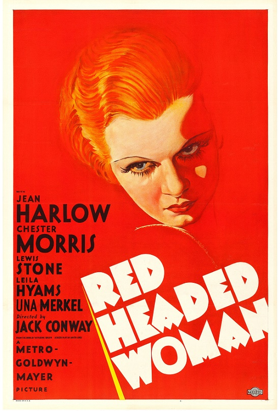 This rare one-sheet for The Red Headed Woman is considered one of the most desirable of all vintage movie posters