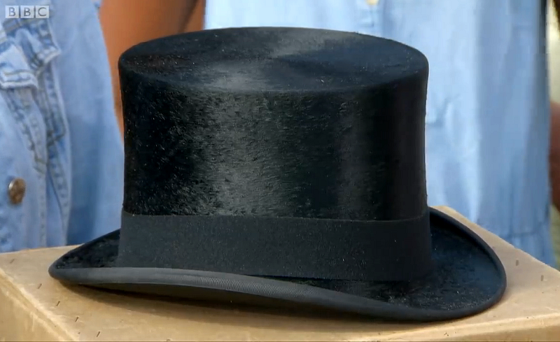 Churchill had originally given the hat to one a woman who served as his cook during WWII