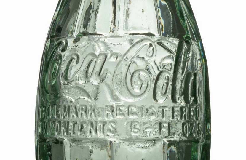 The Coca-Cola 'contour' bottle was first released in 1917, as is one of the 20th century's most iconic design objects
