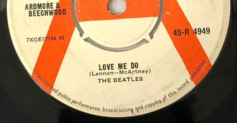 The early demo even managed to spell Paul McCartney's name wrong on the song credit