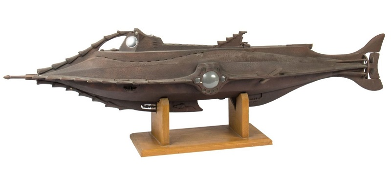 Walt Disney's 20,000 Leagues presentation Nautilus model