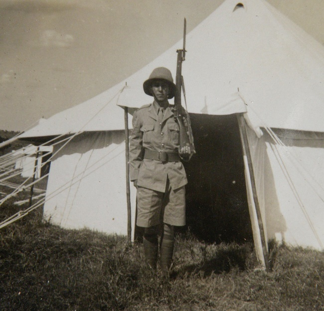 Sergeant Anthony O'Brien, the original owner of the watch