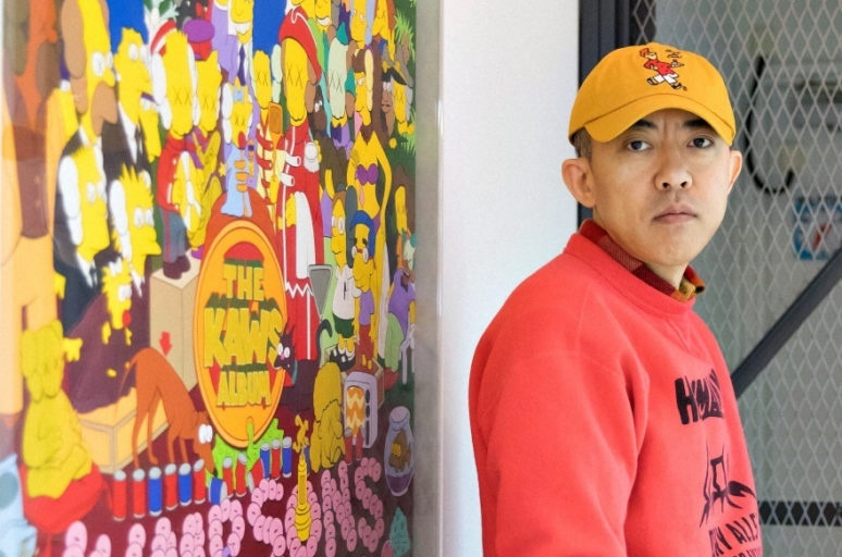 NIGO has been collaborating with KAWS and collecting his works since the mid-1990s.