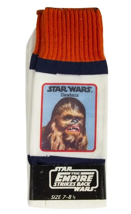 The Empire Strikes Back Chewbacca socks